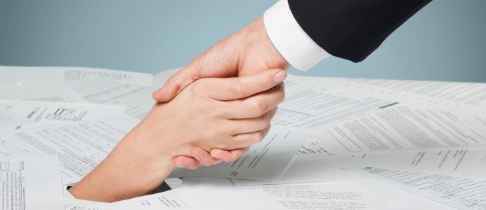 Ein reibungsloser Ablauf der Schuldnerberatung erfordert viel Eigeninitiative des Schuldners.