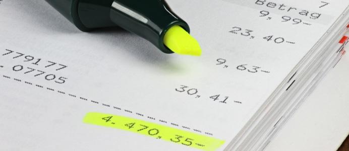 In der Eidesstattlichen Versicherung (heute: Vermögensauskunft) gibt der Schuldner an, dass er die Schulden nicht zahlen kann.