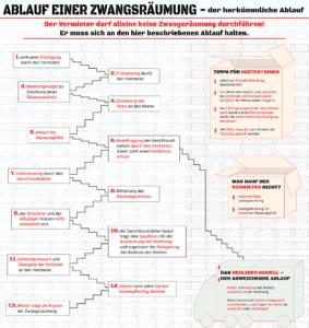 Infografik zur Zwangsräumung (*klick* für große Ansicht)