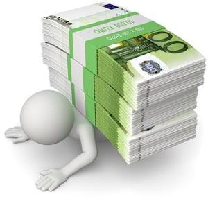 Ein Kredit trotz Kreditunwürdigkeit führt schnell in die Schuldenfalle. Wie soll er zurückgezahlt werden?