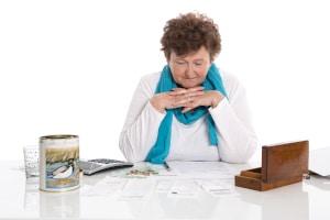 Pfändungsfreigrenze: Für Rentner gilt ebenfalls die Pfändungstabelle.