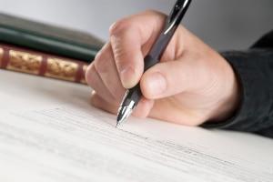 Unterschreiben Sie keine Ratenzahlungsvereinbarung mit Schuldanerkenntnis.