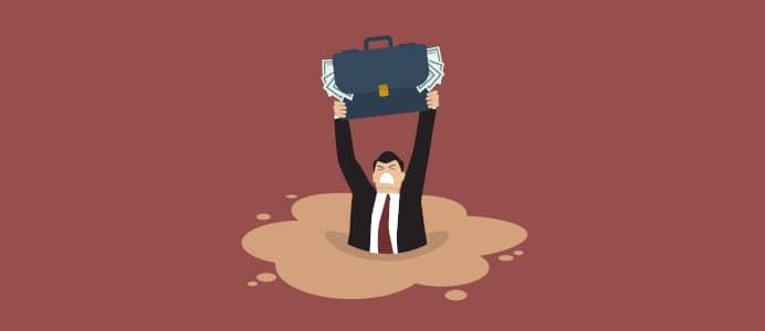 Was tun, wenn Sie in die Schuldenfalle geraten sind?